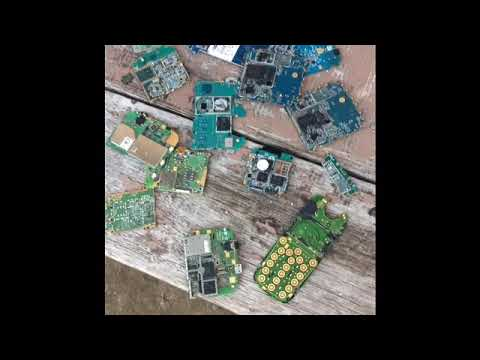 Removing IC Chips, From Old Cell Phone  For *Gold Recovery