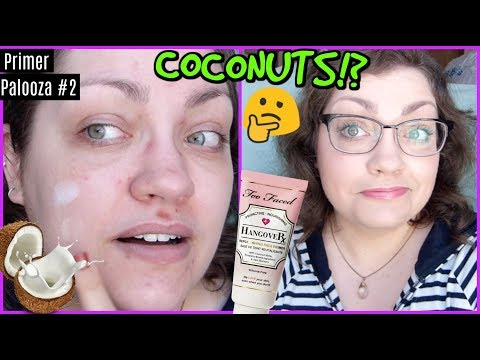 Too Faced Hangover Rx Replenishing Face Primer   PRIMER PALOOZA (DAY 2)