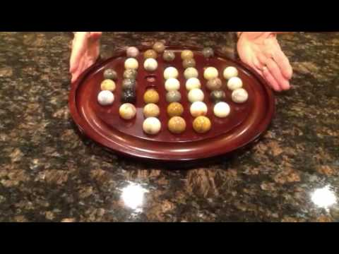 Iowa Solitaire Solution 36 Marbles