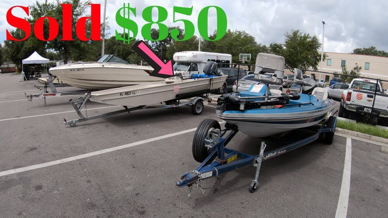 Cheap Boats At Auction