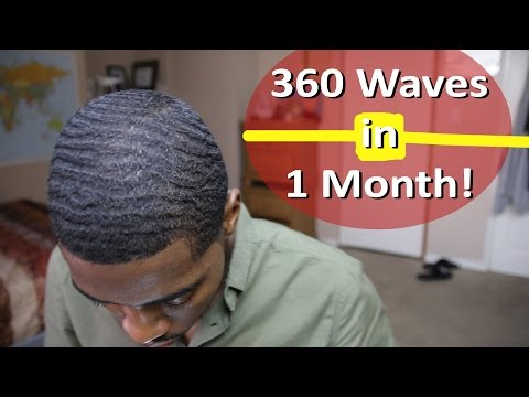How to get 360 Waves in one Month with Nappy Hair