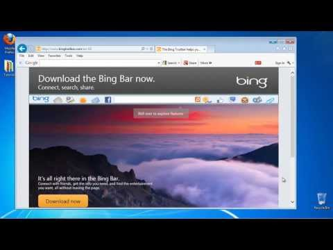 How to Download and Add the Bing Toolbar to Your Internet Browser