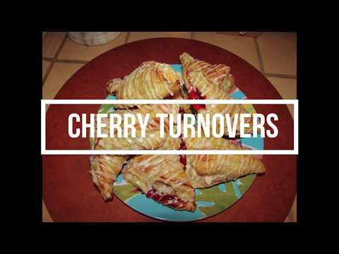 Easy and Delicious Cherry Turnovers