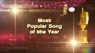 Most Popular Song of the Year | PTC Punjabi Music Awards 2016 | Nominations | PTC Punjabi