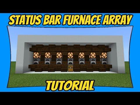 Status Bar Furnace Array Bedrock Edition