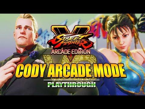 CODY - Alpha Arcade Mode: Street Fighter V - Season 3