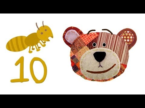 Learn how to count to 10: The insects