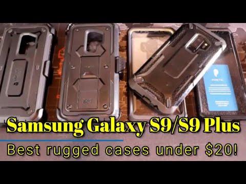 Samsung Galaxy S9/S9 Plus - Best rugged cases under 20!