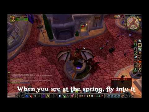 HOW TO: Flying in Dalaran WOW