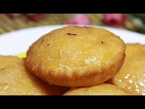 সুজি আর গুড় দিয়ে মালপোয়া||রসের মালপোয়া রেসিপি||Bengali Pua pitha recipe||Sooji Malpua Recipe