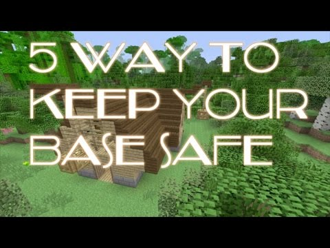 Minecraft: Xbox - 5 ways to keep your base safe tutorial