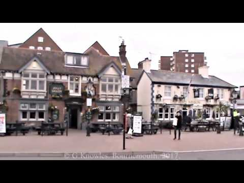 Poole Quay and Poole harbour in February 2017, in the county of Dorset, England. ( 12 )