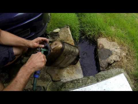 How to clean DPF/FAP filter