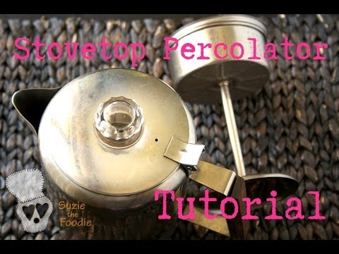 Foodie TV: How to Use a Stovetop Coffee Percolator