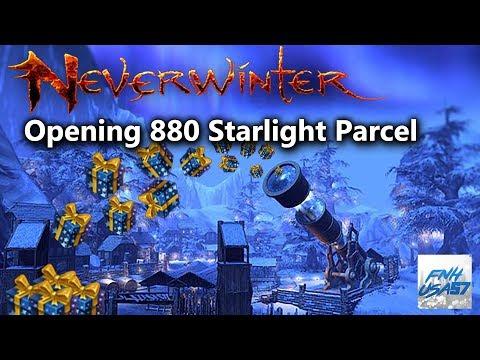 Neverwinter: Opening 880 Starlight Parcel