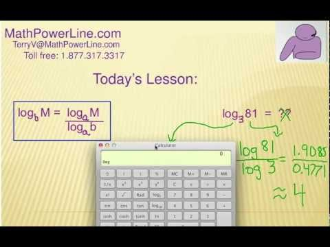 How to Understand Logarithms, Change of Base: Self Quiz