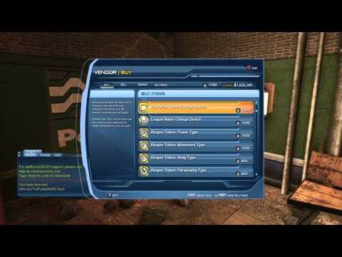 How to use the hidden vending machine in dcuo