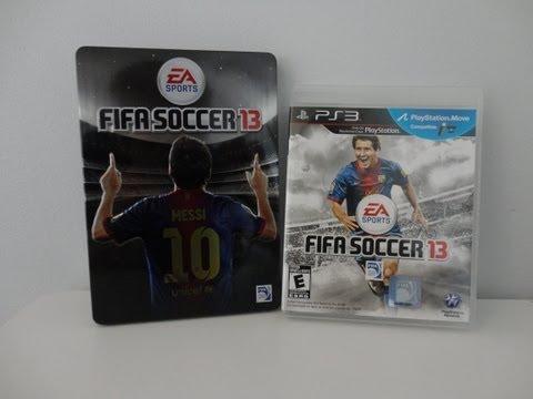 FIFA 13 Unboxing! (Pre-Order Bonus)
