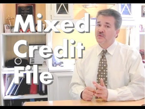 Mixed Credit report, Why do I have two social security numbers on my credit file??