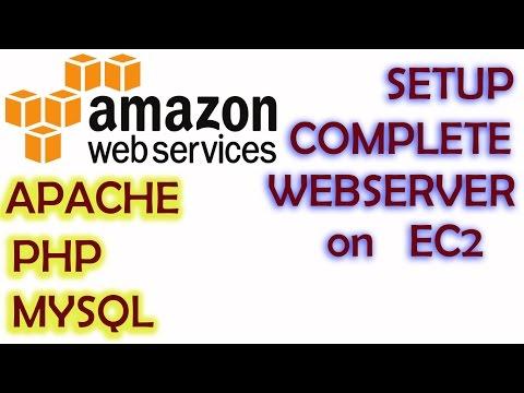 AWS Training Tutorial #1 - EC2 - Setup Complete WEBSERVER | Install PHP APACHE MYSQL