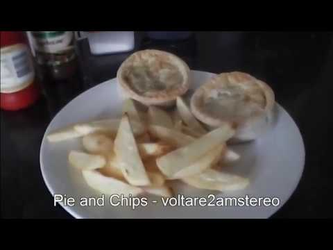 Meat Pie and Hot Chips - fries - in 15 minutes