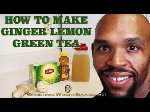 HOW TO MAKE GINGER LEMON GREEN TEA- CHRISTIAN EVANS