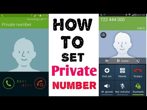 How To Make A Call With Private Number | Make a Call With Unknown Number