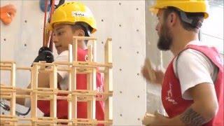Kapla World Record : 2 jours de construction pour 1 tour KAPLA de 18m40