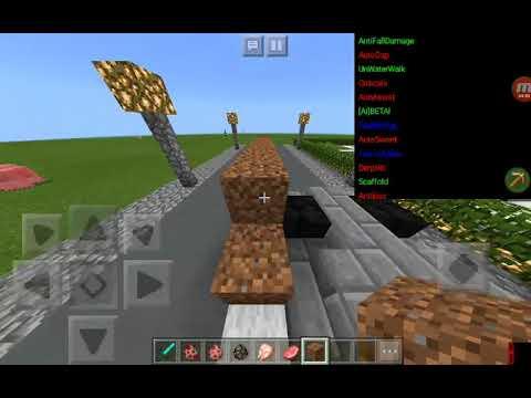 Hacking In minecraft.