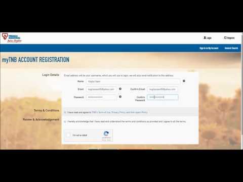Cara Register Akaun TNB