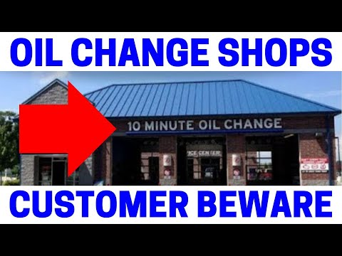 Fast Oil Change Shop Epic Fails!  (Must Watch)