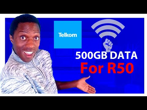How to get 500GB DATA for only R50 in South Africa