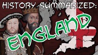 History Summarized: England