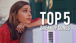 Top 5 Ariana Grande Breakup Songs