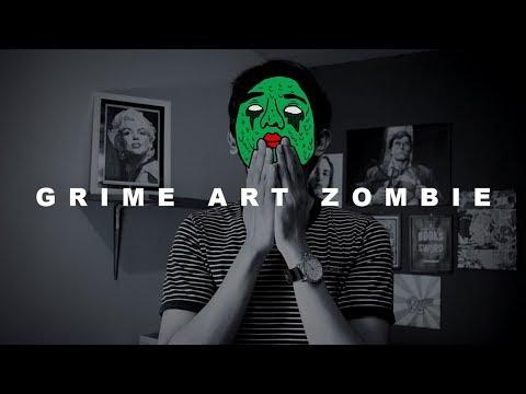 Tutorial Membuat Video Grime Art Zombie Seperti Getter (Head Splitter) - Adobe Photoshop CC