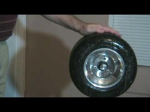 Winterizing a Kart Tire