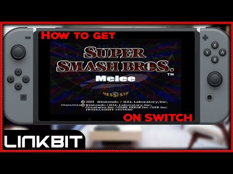 HOW TO GET SUPER SMASH BROS MELEE ON NINTENDO SWITCH SUPER SIMPLE! (April fools 2018)