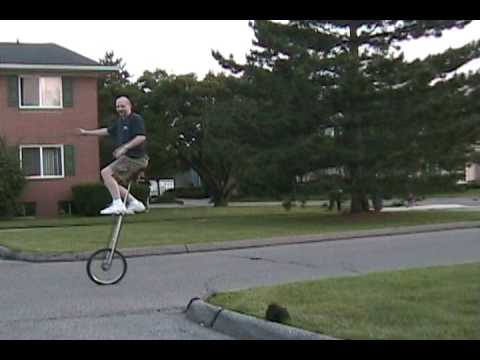 6 foot unicycle freeclimb
