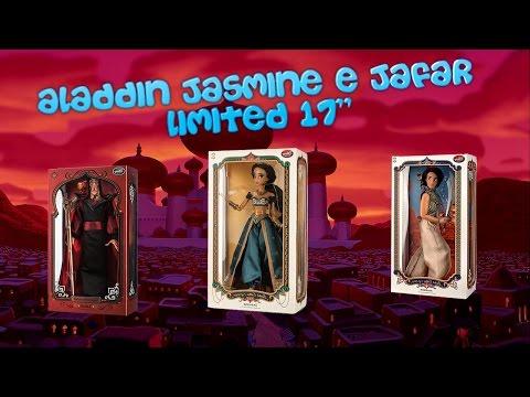 88 - Aladdin Jasmine e Jafar Disney Store limited 17