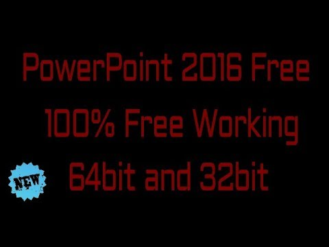 How to download Powerpoint 2016 Free | 100% free | no password |