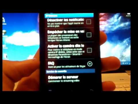 Tuto: Utiliser son portable comme webcam