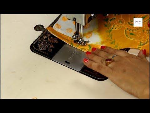 बचे हुए कपडे में से बनाये  ऐसा डिज़ाइनर फ्रॉक बच्चौं के लिए Designer Baby frock cutting and stitching