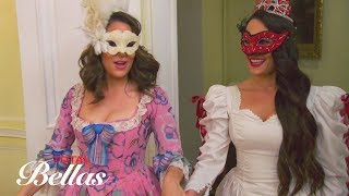 Nikki practices walking down the aisle during a masquerade: Total Bellas Preview Clip, July 22, 2018