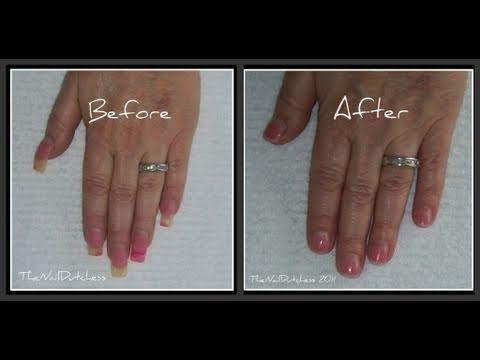 ~ How To Shorten Long Acrylic Nails ~