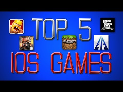 Top 5 iOS Games for iPhone, iPad, & iPod Touch - 2014