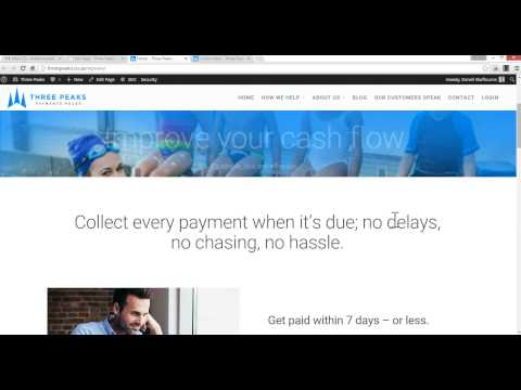 Three Peaks Website Implementation with Salient Theme - Video 3