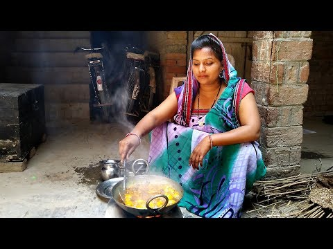 MY SPECIAL VILLAGE RECIPE | DAILY INDIAN KITCHEN ROUTINE 2018 |  INDIAN VILLAGE COOKING