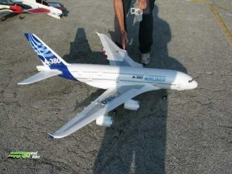 RC EDF Airbus A-380 - Maiden Flight