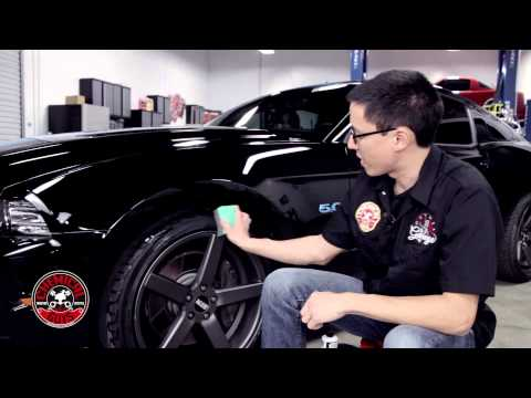 How To Shine Your Tires - Chemical Guys Natural Shine