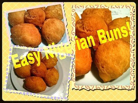 How to make Nigerian Buns.